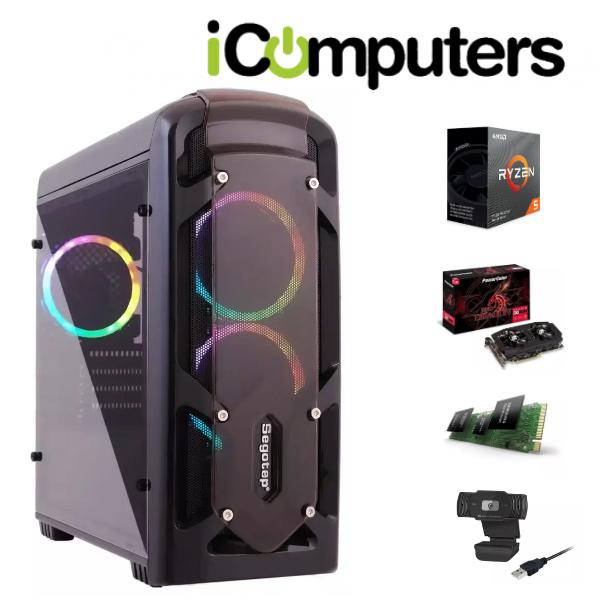 Компютър Segotep Polar Light Gaming RGB